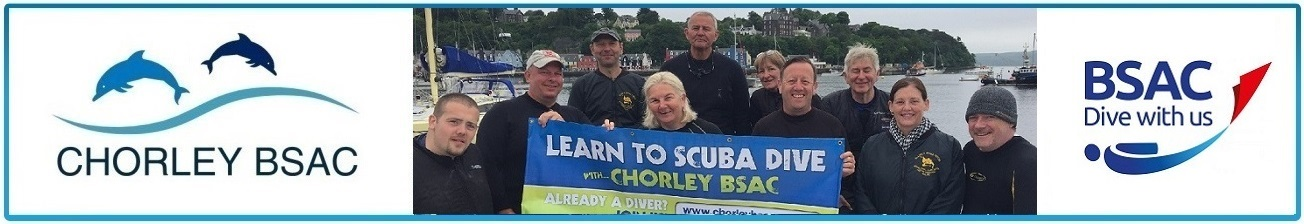 Try SCUBA diving with Chorley BSAC